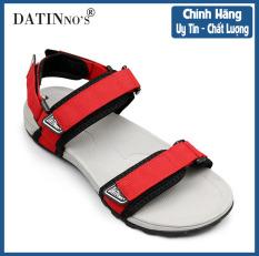 Giày Sandal Nam Quai Ngang DATINNOS ( Đen Xanh Rêu Đỏ ) – SDDN101