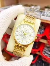 đồng hồ nam baishun mặt trắng BQW01 chống nước chống xước