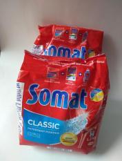 Combo 2 gói bột rửa bát Somat , Bột rửa chén bát chuyên dụng dành cho máy.