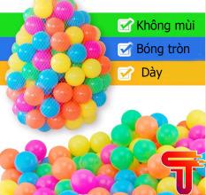 Túi 100 quả bóng nhựa cho bé kích thước 5cm TANASA- Hàng Việt Nam