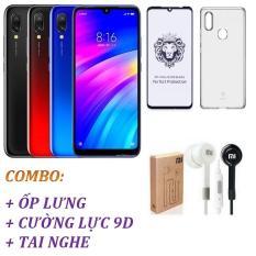 Xiaomi Redmi 7 32GB Ram 3GB (Rom Quốc Tế) + Ốp lưng + Cường lực 9D Full màn + Tai nghe – Shop Online 24 – Hàng Nhập Khẩu