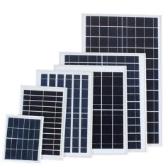 Tấm pin năng lượng mặt trời Solar Panel 6V 20W Poly – bảo hành 24 tháng dùng cho đèn pha năng lượng