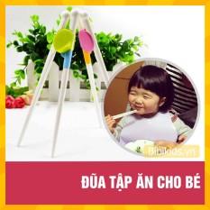 Đũa tập ăn cho bé, giúp bé gắp đồ ăn dễ dàng hơn
