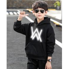 Áo Hoodie Trẻ Em WinBeen In Hình Alan Walker Phản Quang Siêu Đẹp Form Rộng Vải Nỉ Dầy Ấm Phong Cách Ulzzang