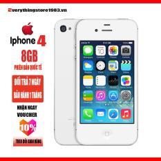 Điện thoại Apple iPhone 4- 8GB – Full Phụ Kiện – phiên bản quốc tế – Bao đổi trả – Everythingstore1983.vn