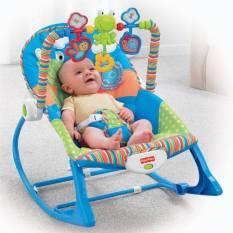 Ghế rung cho bé-Ghế rung IBaby ( Có nhạc,màn che muỗi, đồ chơi, bập bênh )