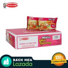 Thùng 24 gói miến Phú Hương vị thịt bằm 58g