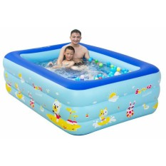 Bể phao bơi Heinler mini 3 tầng cho bé ( nhiều kích thước) hàng loại dày