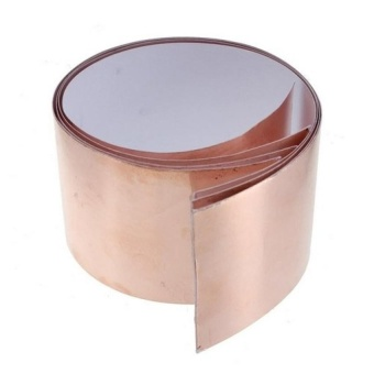 "1 Feet X 50Mm Copper Foil Tape Emi Shielding For Guitars Pedals 1Ft X 2"" New - intl"