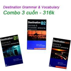Destination Grammar & Vocabulary (Combo 3 cuốn) – 316k