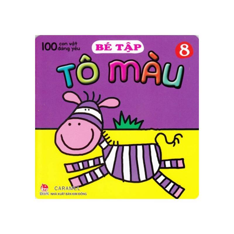 Mua 100 Con Vật Đáng Yêu - Bé Tập Tô Màu (Tập 8)