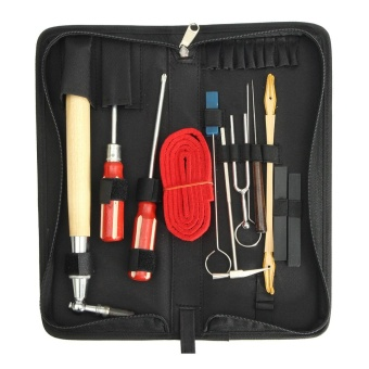 13pcs Professional Piano Tuning Maintenance Tool Kits Cardin StickScrewdriver - intl