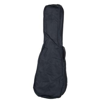 """21"""" Soft Canvas Ukulele Bag Black - intl"""