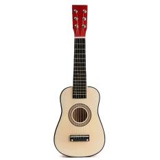"""23 """"đỏ Gỗ Người Mới Bắt Đầu Tập Luyện Đàn Guitar w/6 Dây Dành Cho Trẻ Em Kids-quốc tế"""