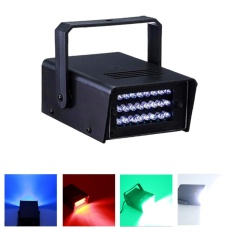 24 LED Mini Halloween Strobe Light DJ Disco Party Club Flash Bar Stage Lighting – intl