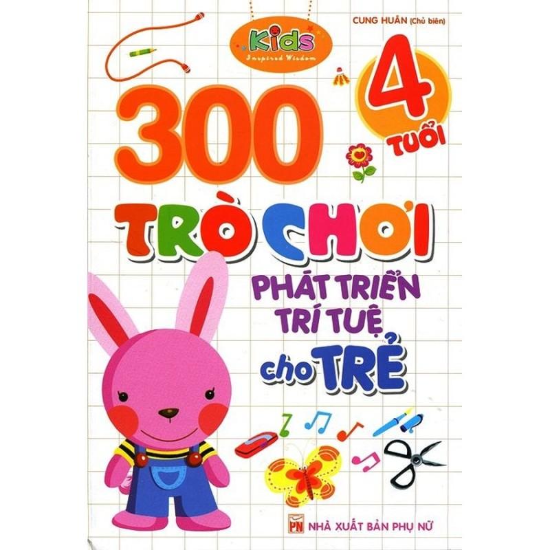 Mua 300 Trò Chơi Phát Triển Trí Tuệ Cho Trẻ (4 Tuổi)