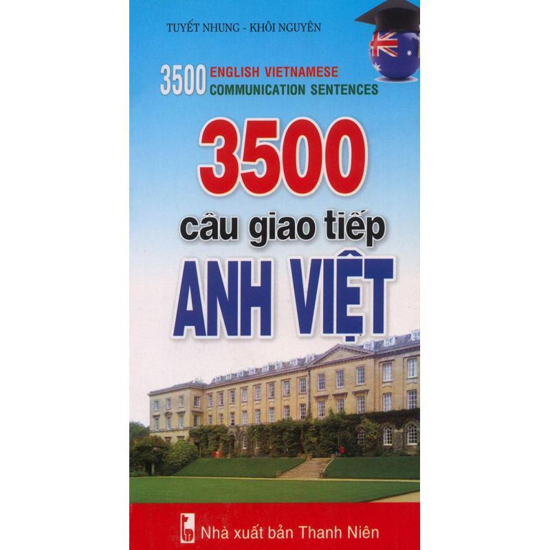 Mua 3500 câu giao tiếp Anh Việt (kèm CD)