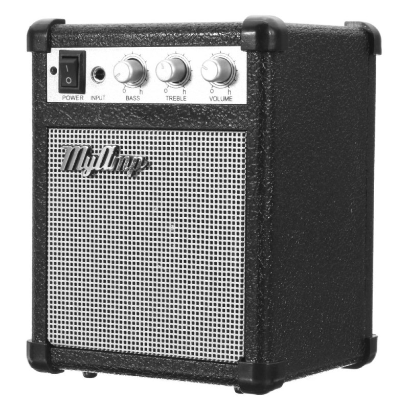 4 Inch Micro Portable 5watt Battery Powered Guitar Amp Amplifier 4 ohms with USB - intl