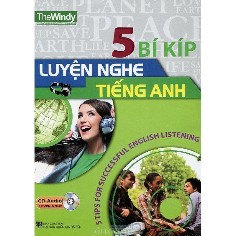 Mua 5 Bí Kíp Luyện Nghe Tiếng Anh (Kèm CD)