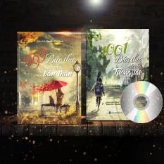 [Tặng bút máy #69k] Combo 2 sách song ngữ: 1001 Bức Thư Viết Cho Tương Lai (Có Audio) + 999 Bức Thư Viết Cho Bản Thân 2018 (Có Audio) + DVD