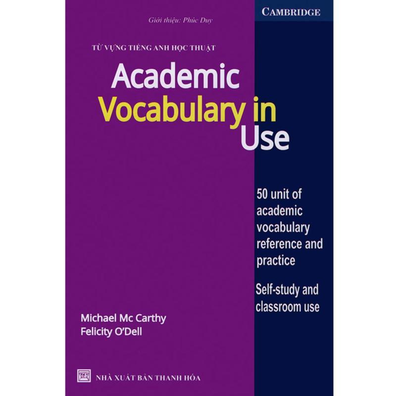 Mua Academic Vocabulary in use