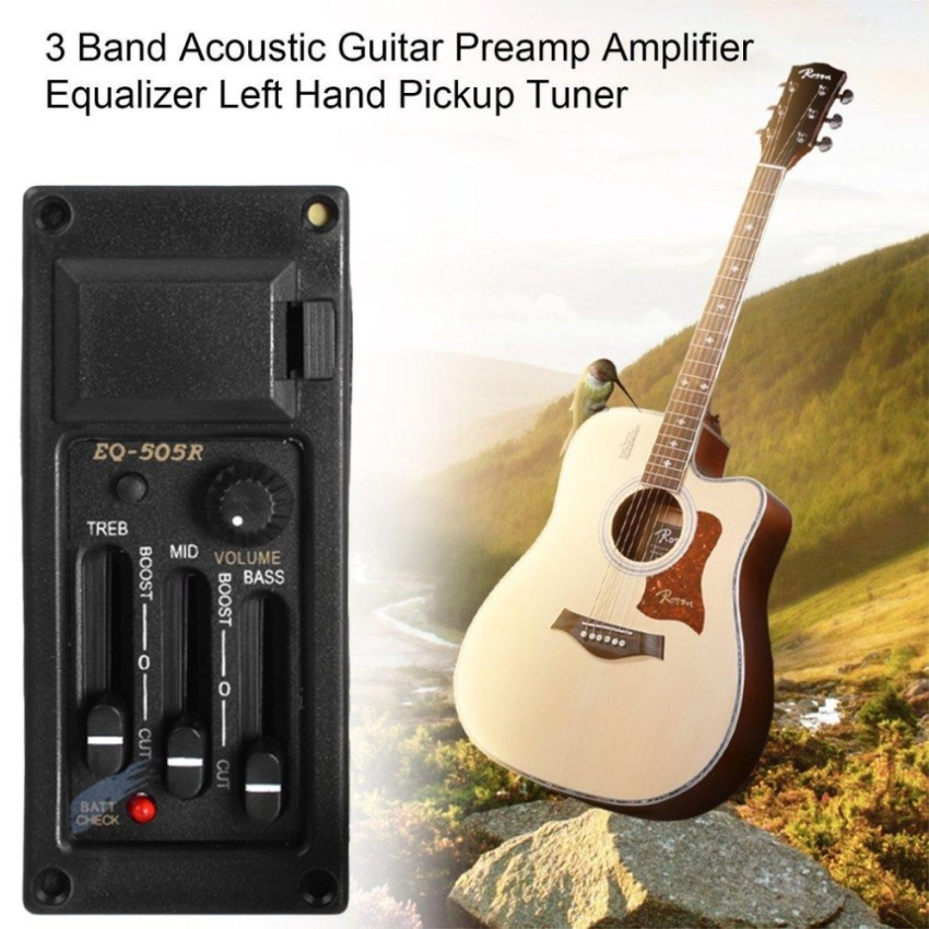 ... 5 Band Preamp EQ Equalizer Piezo Pickup for Acoustic Guitar. Source · Giá:240,000đ