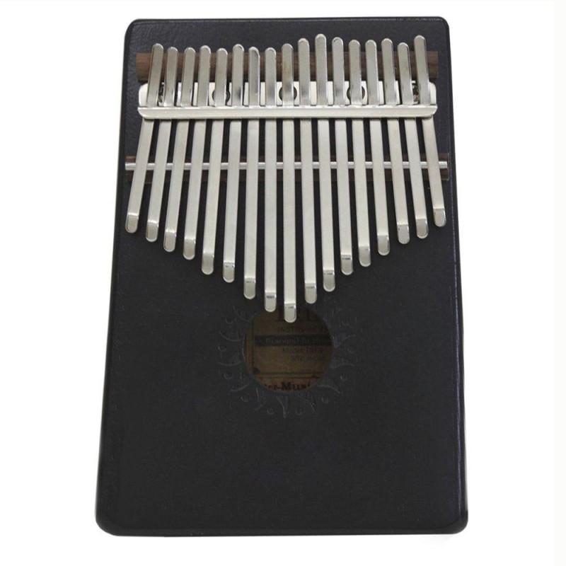 Allwin Natural 17 Keys Finger Thumb Pocket Piano Kalimba Mbira Thumb Piano Great Gift