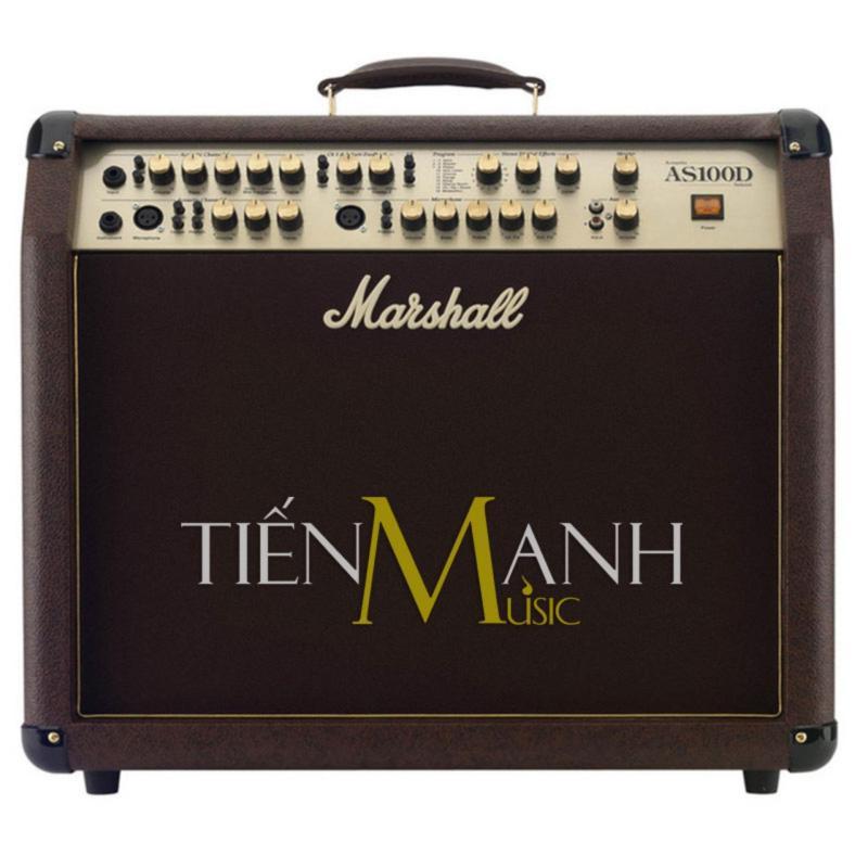 Ampli Đàn Acoustic Guitar Marshall Soloist AS100D - Hãng phân phối bởi Tiến Mạnh Music (Guitar Amplifier - Công suất Loa 100W)