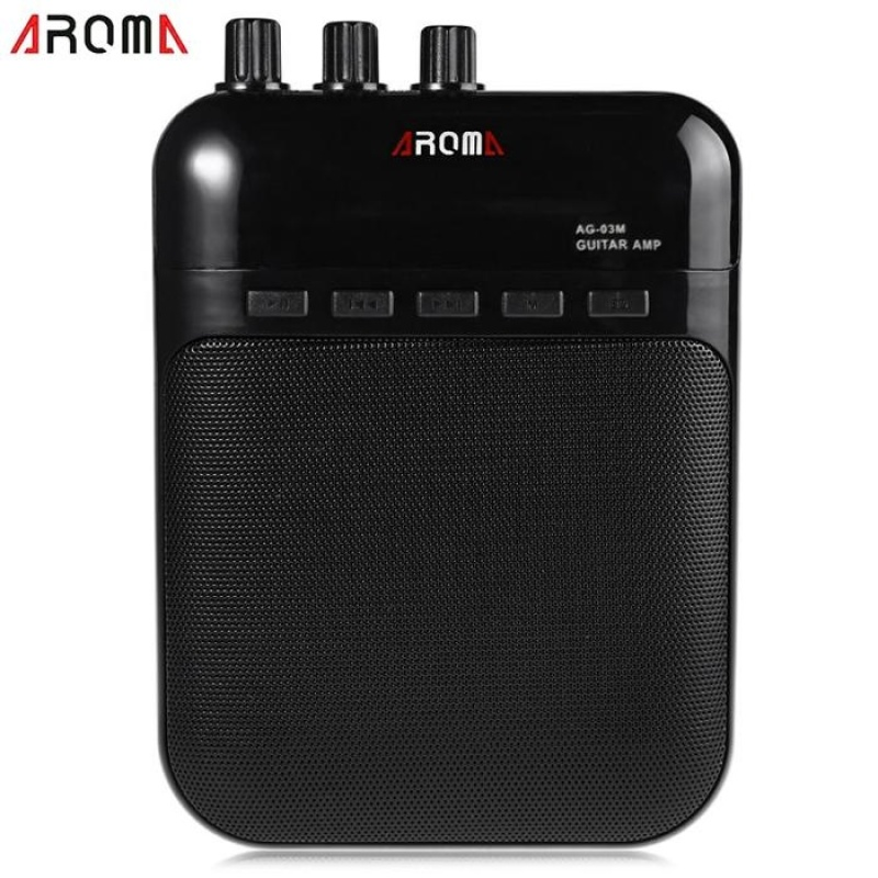 AROMA AG - 03M Portable Charging 3W Mini Guitar Amplifier - intl