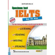 Mua Bài thi mẫu IELTS – IELTS Specimen test