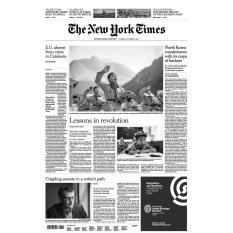 Báo giấy The New York Times – October 17, 2017