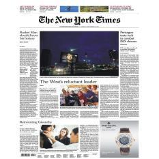 Báo giấy The New York Times – September 26, 2017
