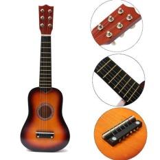 Người mới bắt đầu chơi Đàn Ukulele Uke Soprano Nhạc Cụ Đàn Guitar 6 Dây Cho Học Sinh Sinh Viên-quốc tế