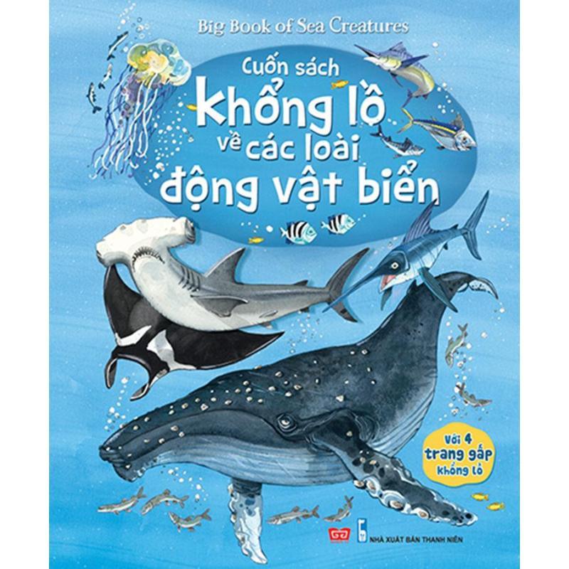 Mua Big book - Cuốn sách khổng lồ về các loài động vật biển