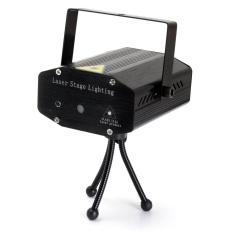 Đen Mini R & G Tự Động/Thoại Xmas DJ Disco Laser LED Pha Chiếu + Điều Khiển Từ Xa HOA KỲ quốc tế