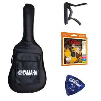 Bộ 1 bao đàn guitar Yamaha + 1 Capo Alice A007D + 1 Dây Classic Alice AW436 + 1 phím gảy