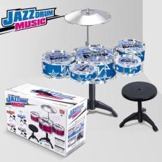 BỘ 5 TRỐNG SÔI ĐỘNG Jazz CÓ GHẾ CHO BÉ