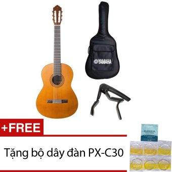 Bộ đàn guitar Classic Yamaha C40 + Bao đàn và Capo + Tặng bộ dâyđàn PX-C30 - 8843479 , YA171MEAA1ALUTVNAMZ-1978256 , 224_YA171MEAA1ALUTVNAMZ-1978256 , 4500000 , Bo-dan-guitar-Classic-Yamaha-C40-Bao-dan-va-Capo-Tang-bo-daydan-PX-C30-224_YA171MEAA1ALUTVNAMZ-1978256 , lazada.vn , Bộ đàn guitar Classic Yamaha C40 + Bao đàn và Cap