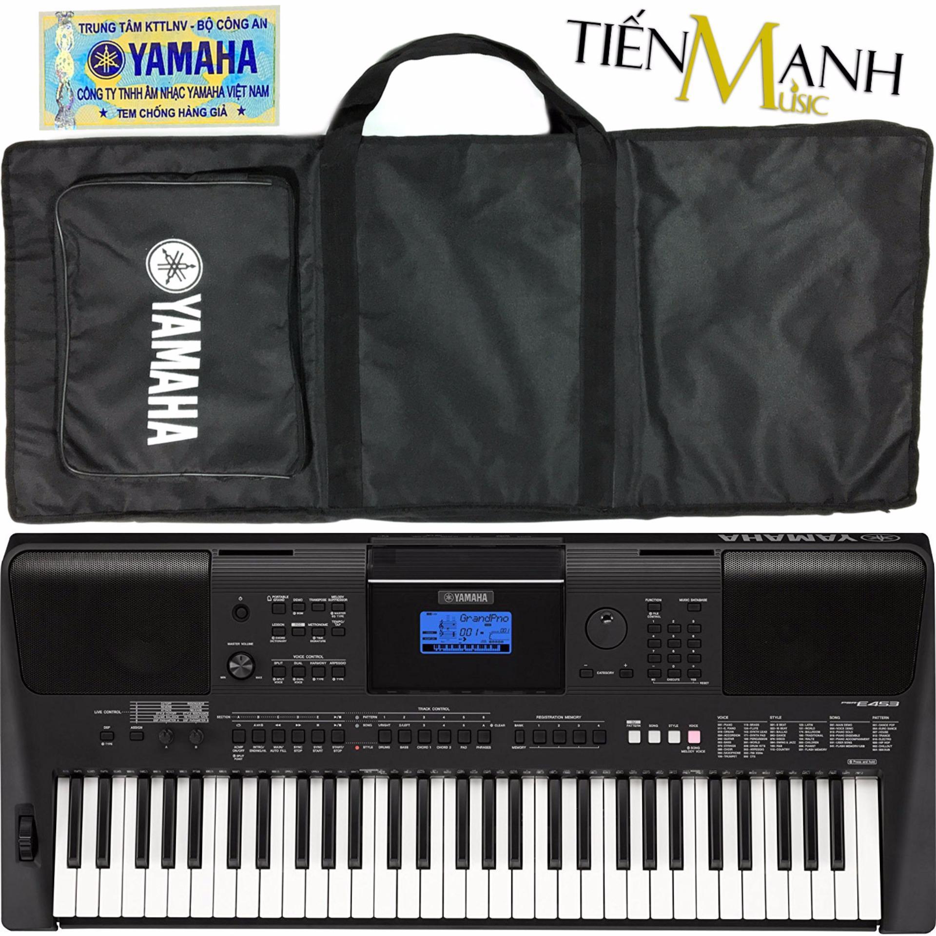 Shop Bn N Organ Yamaha Psr E453 Hng Phn Phi Chnh Thc Keyboard