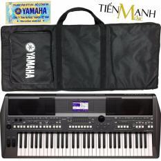 Đàn Organ Yamaha PSR-S670 – Hãng phân phối chính thức (Keyboard PSR S670 – Hàng chính hãng, Có tem chống hàng giả bộ CA – Bộ Đàn, Bao, Nguồn)