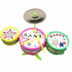 Bộ đồ chơi 3 trống màu sắc cho bé