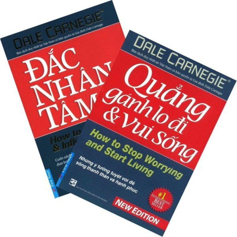 Mua Bộ sách Đắc Nhân Tâm và Quẳng Gánh Lo Đi Và Vui Sống - Dale Carnegie