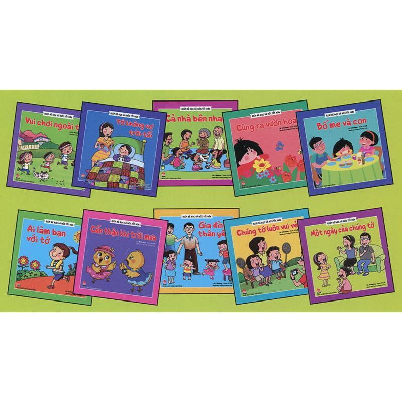 Mua Bộ sách giúp bé đọc và nói tốt hơn (10 cuốn)