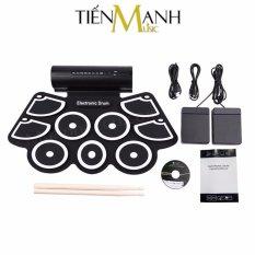 [Hỗ trợ kết nối máy tính] Bộ Trống điện tử 9 Mặt Konix MD760 – Electronic Drum Kit Ultra Portable 9 Pad Digital – Hãng Phân Phối chính thức