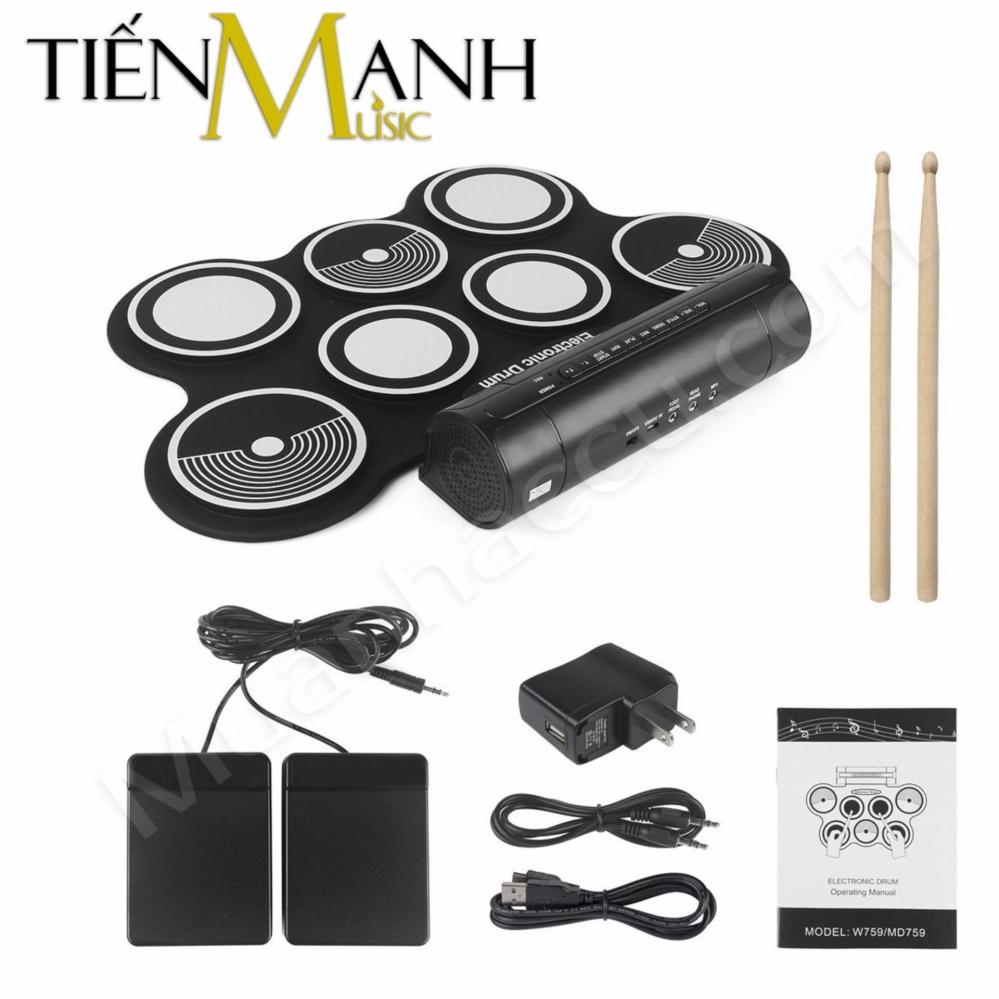 Trang bán Bộ Trống điện tử Konix Portable Digital Drum W759