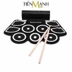 Bộ trống điện tử Konix Portable Digital Drum W760 chất lượng cao, âm thanh hay – Hỗ trợ giai điệu và bài nhạc cài sẵn trong trống