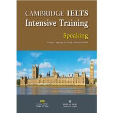 Nơi nào bán Cambridge IELTS Intensive Training Speaking – 218k