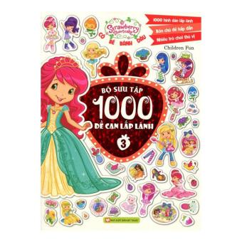 Cô Bé Bánh Dâu - Bộ Sưu Tập 1000 Đề Can Lấp Lánh (Tập 3) - ChildrenFun