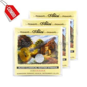 Combo 4 Bộ dây A106 cho đàn guitar Classic - 10276337 , NO007MEAA337YHVNAMZ-5380428 , 224_NO007MEAA337YHVNAMZ-5380428 , 200000 , Combo-4-Bo-day-A106-cho-dan-guitar-Classic-224_NO007MEAA337YHVNAMZ-5380428 , lazada.vn , Combo 4 Bộ dây A106 cho đàn guitar Classic