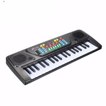 Đàn điện tử organ 37 phím kèm mic dành cho trẻ em -AL